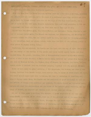 Primary view of object titled '[Radio script by Carl B. Compton]'.