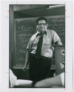 [Portrait of Dr. Hiram Friedsam Teaching]