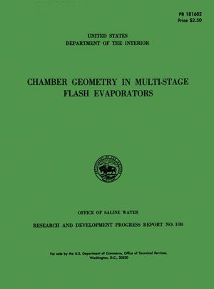 Chamber Geometry in Multi-Stage Flash Evaporators