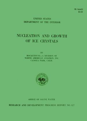 Primary view of object titled 'Nucleation and Growth of Ice Crystals'.