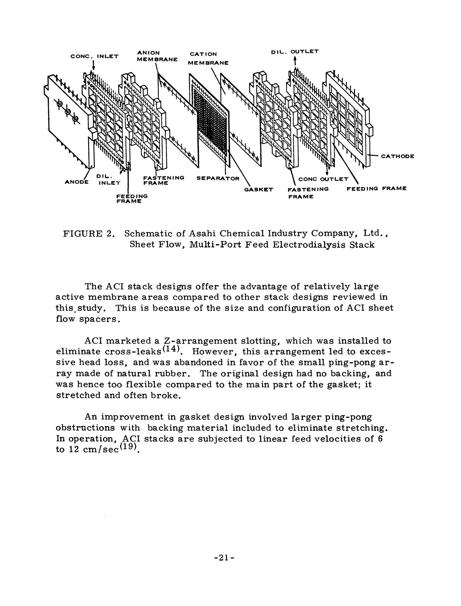 Parametric Economic and Engineering Evaluation Study of the