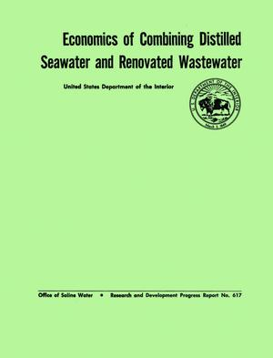 Primary view of object titled 'Economics of Combining Distilled Seawater and Renovated Wastewater'.
