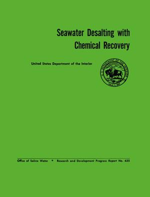 Primary view of object titled 'Seawater Desalting with Chemical Recovery'.