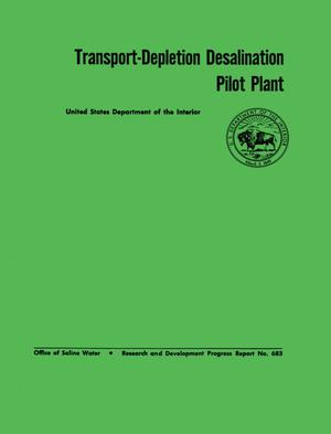 Primary view of object titled 'Transport-Depletion Desalination Pilot Plant'.