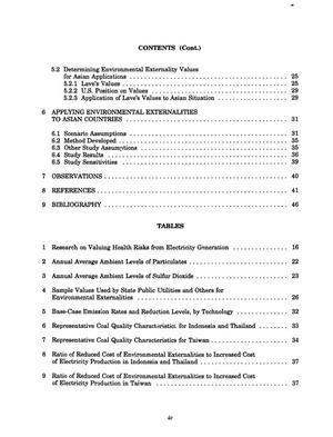 Environmental externalities: Applying the concept to Asian