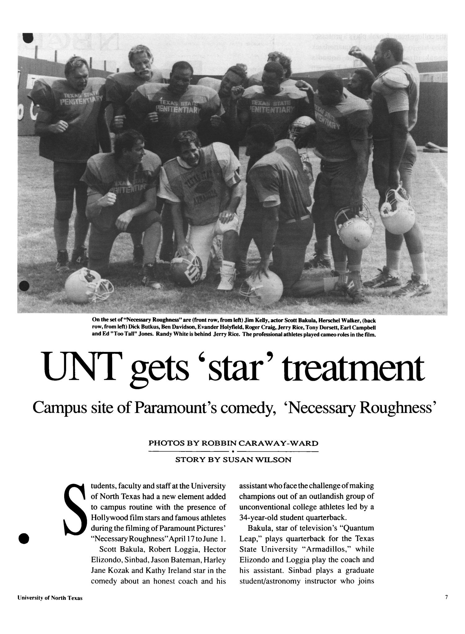 The North Texan, Volume 41, Number 2, June 1991                                                                                                      7