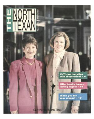 Primary view of object titled 'The North Texan, Volume 44, Number 1, March 1994'.