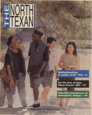 Primary view of object titled 'The North Texan, Volume 44, Number 3, September 1994'.