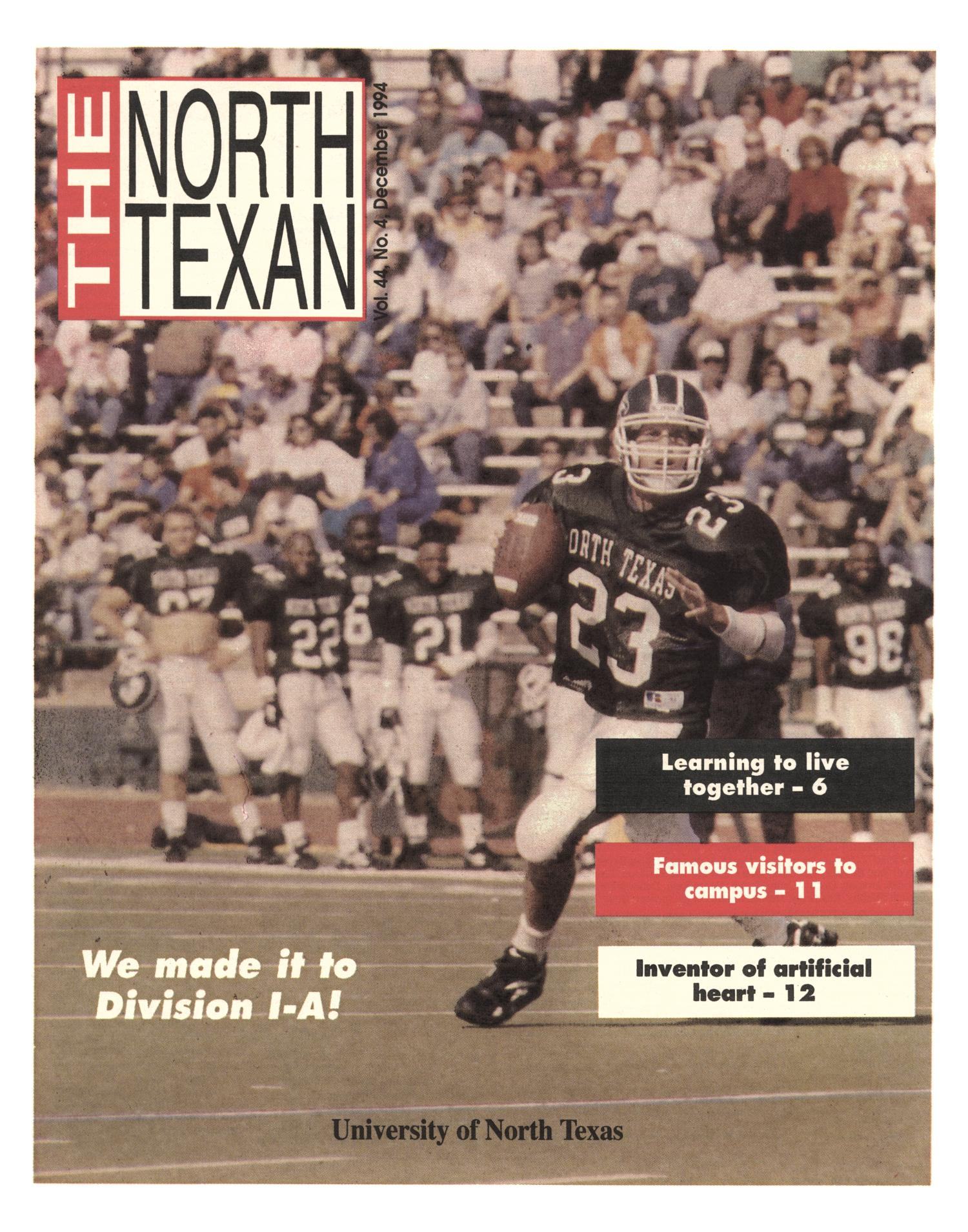 The North Texan, Volume 44, Number 4, December 1994                                                                                                      1