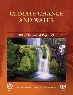 Primary view of object titled 'Climate Change and Water: Technical Paper VI'.