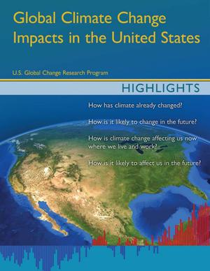 Primary view of object titled 'Global Climate Change Impacts in the United States: Highlights'.
