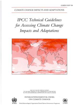 IPCC Technical Guidelines for Assessing Climate Change Impacts and Adaptations