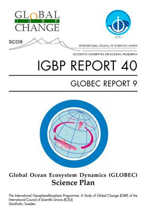 Primary view of object titled 'Global Ocean Ecosystem Dynamics (GLOBEC) Science Plan'.