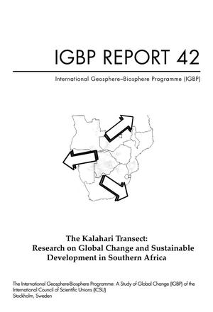 The Kalahari Transect: Research on Global Change and Sustainable Development in Southern Africa