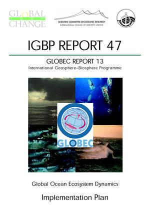 Primary view of object titled 'Global Ocean Ecosystem Dynamics: Implementation Plan'.