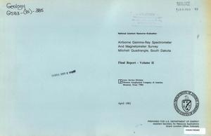 Airborne Gamma-Ray Spectrometer and Magnetometer Survey, Mitchell Quadrangle, South Dakota: Final Report, Volume 2