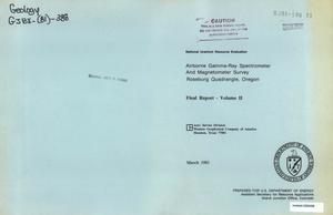 Airborne Gamma-Ray Spectrometer and Magnetometer Survey, Roseburg Quadrangle, Oregon: Final Report, Volume 2