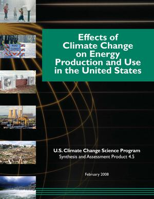 Effects of Climate Change on Energy Production and Use in the United States