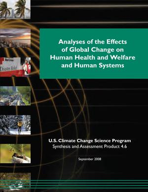 Primary view of object titled 'Analyses of the Effects of Global Change on Human Health and Welfare and Human Systems'.