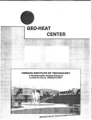 Primary view of object titled 'Marketing the Klamath Falls Geothermal District Heating system'.