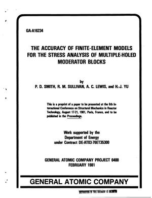 Improbable. Finite element modeling for stress analysis