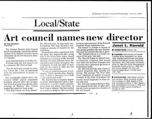 Primary view of object titled '[Denton Record-Chronicle 'Local/State', April 6, 1994]'.