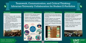 Teamwork, Communication, and Critical Thinking: Librarian/University Collaboration for Student E-Portfolios