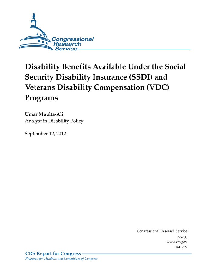 Disability Benefits Available Under the Social Security