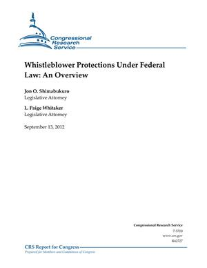 Whistleblower Protections Under Federal Law: An Overview