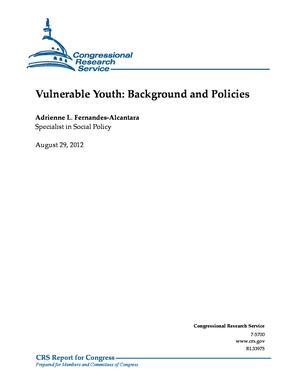 Vulnerable Youth: Background and Policies