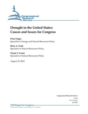 Drought in the United States: Causes and Issues for Congress