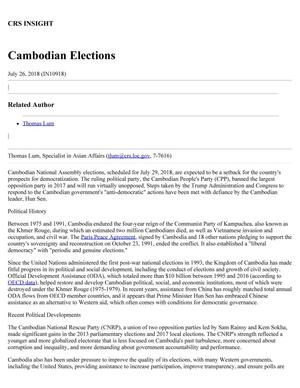 Cambodian Elections