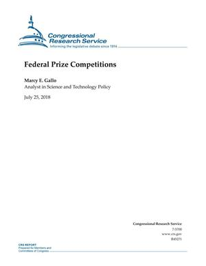 Primary view of object titled 'Federal Prize Competitions'.