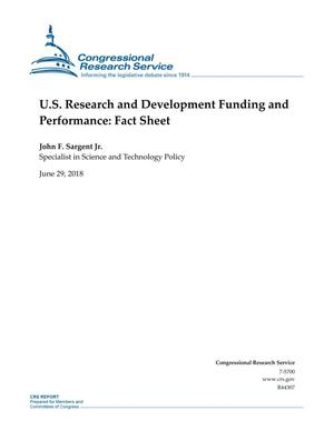 U.S. Research and Development Funding and Performance: Fact Sheet
