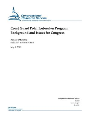 Primary view of object titled 'Coast Guard Polar Icebreaker Program: Background and Issues for Congress'.