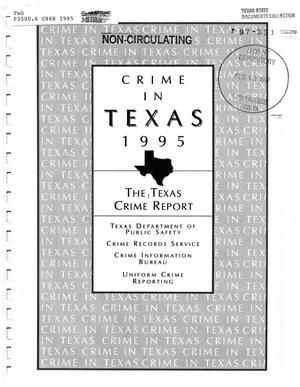 Primary view of object titled 'Texas Crime Report 1995'.