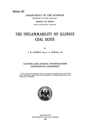 Primary view of object titled 'The Inflammability of Illinois Coal Dusts'.