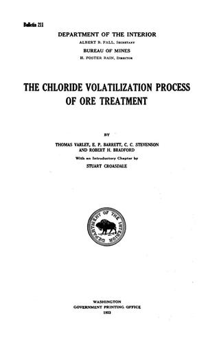 Primary view of object titled 'The Chloride Volatilization Process of Ore Treatment'.
