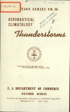Primary view of Aeronautical Climatology : Thunderstorms