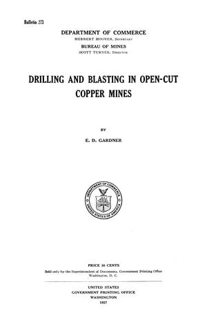 Primary view of object titled 'Drilling and Blasting in Open-Cut Copper Mines'.