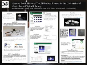 Hosting Book History: The 3Dhotbed Project in the University of North Texas Digital Library