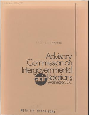 Catalog of State Programs, 1983