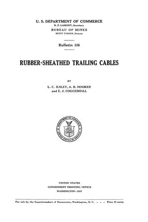Primary view of object titled 'Rubber-Sheathed Trailing Cables'.