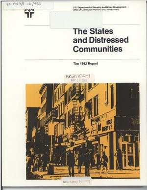 The States and Distressed Communities: The 1982 Report