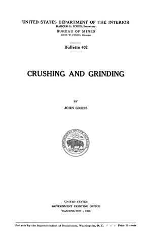 Primary view of object titled 'Crushing and Grinding'.