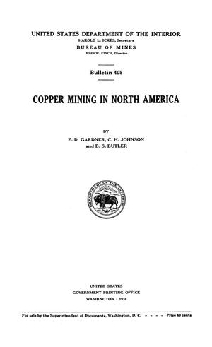 Primary view of object titled 'Copper Mining in North America'.