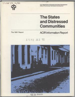 Primary view of object titled 'The 1981 Report'.