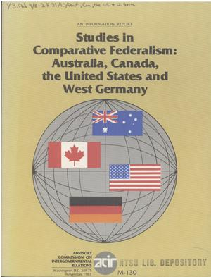 comparative federalism us v canada Ap's high school comparative government and politics course is a rigorous, college-level class that provides an opportunity to gain skills colleges recognize.