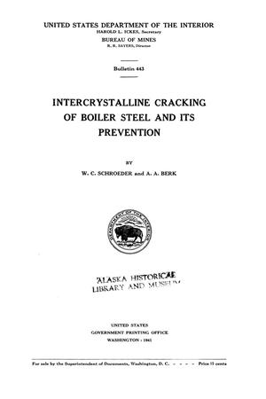 Primary view of object titled 'Intercrystalline Cracking of Boiler Steel and Its Prevention'.