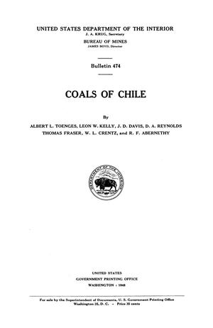 Primary view of object titled 'Coals of Chile'.